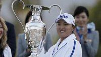 Korejská golfistka Ko Čin-jong vyhrála turnaj ANA Inspiration v kalifornském Rancho Mirage.