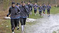 Fotbalisté Jihlavy i s Tomášem Markem se připravují na jarní část sezóny.