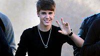 Popový zpěvák Justin Bieber