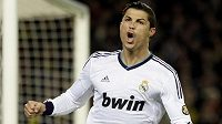 Fotbalista Realu Madrid Cristiano Ronaldo je ve formě...