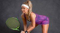 Česká tenistka Barbora Miklová