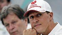 Michael Schumacher na snímku z října 2012.