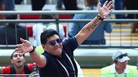 I s přibývajícími léty stále impulzivní Diego Maradona.