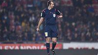 Rozhodčí Libor Kovařík se v zápase Sparta - Teplice dopustil několika závažných chyb.