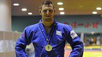 Lukáš Krpálek z ČR získal zlatou medaili na turnaji série Grand Prix v judu v čínském Chu-che-chao-tche v kategorii nad 100 kg.