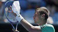 Tomáš Berdych po postupu v 1. kole Australian Open.