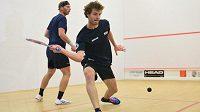 Bezchybný Dán ve finále squashového Czech Open padl. Přejel ho Belgičan Herrewegen