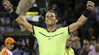 Rafael Nadal na turnaji v Miami.