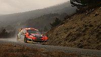 Martin Prokop s Fordem Fiesta WRC při testech během minulého týdne.