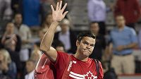 Milos Raonic by se mohl postavit slovenským tenistům