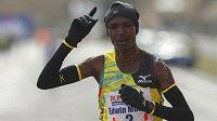 Keňský běžec Edwin Mokua