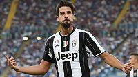 Mistr světa z roku 2014 Sami Khedira odchází z Juventusu do Herthy Berlín.