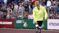 Jihoafrický sprinter Oscar Pistorius na Zlaté tretře v Ostravě