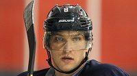 Ruská hokejová hvězda Alexander Ovečkin.