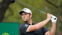 Španělský golfista Jon Rahm během turnaje WGC Dell Technologies Match Play v Austinu.