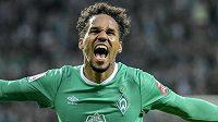 Radost. Obránce Werderu Brémy Theodor Gebre Selassie oslavuje gól.
