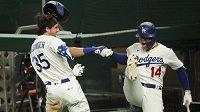 O titul z MLB se ve Světové sérii utkají baseballisté Tampy Bay a Los Angeles Dodgers. Rovněž losangeleský celek rozhodl semifinále play off až v sedmém zápase, v neděli porazil Atlantu Braves 4:3.