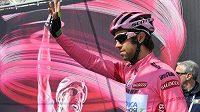 Australan Michael Matthews stále drží růžový trikot pro lídra Gira d´Italia.