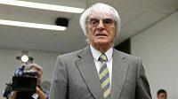 Promotér Formule 1 Bernie Ecclestone.