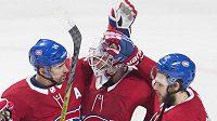 Český útočník Tomáš Plekanec (14) byl jednou z hvězd Montrealu v utkání NHL proti Ottawě (ilustrační foto).