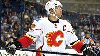 Jarome Iginla v dresu Calgary. Za Flames odehrál 16 sezón.