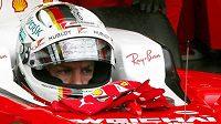 Německý pilot formule 1 Sebastian Vettel.