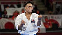 Japonský karatista Rjo Kijuna získal na olympijských hrách v Tokiu zlato v disciplíně kata.