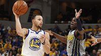 Hvězdný basketbalista Golden State Warriors Stephen Curry (30).