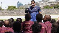 Roger Federer pomůže africkým dětem.