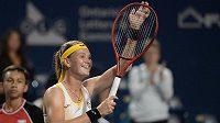 Česká tenistka Marie Bouzková na turnaji v Torontu porazila 6:2, 7:5 osmou hráčku světa a vítězku předloňského US Open Američanku Sloane Stephensovou.