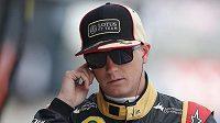 Pilot stáje Lotus Kimi Räikkönen.