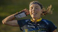 Vítězka závodu ženTove Alexanderssonová ze Švédska.