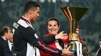 Získá Cristiano Ronaldo s Juventusem letos italský Superpohár? Hrát se letos bude v Reggio Emilia. Archivní foto
