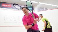 Legendární squashista Jan Koukal opět postoupil do finále mistrovství republiky.