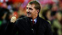 Manažer fotbalistů Liverpoolu Brendan Rodgers má důvody k úsměvům. Vydrží mu až do konce sezóny?