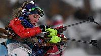 Slovenská biatlonistka Paulína Fialková na olympijských hrách v Pchjongčchangu.