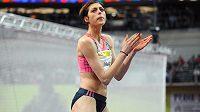 Chorvatka Blanka Vlašičová překonala na mítinku Prague Indoor laťku ve výšce 200 cm.