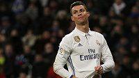 Portugalský fotbalista Realu Madrid Cristiano Ronaldo.