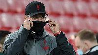 Manažer Liverpoolu Jürgen Klopp před utkáním.