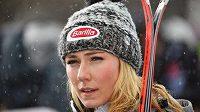 Elitní americká sjezdařka Mikaela Shiffrinová prokázala i hudební talent.