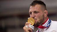 Český judista Lukáš Krpálek, dvojnásobný držitel zlaté medaile z olympijských her.