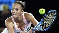 Karolína Plíšková je připravena táhnout tenistky v prvním kole Fed Cupu