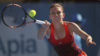 Simona Halepová na Australian Open.