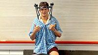 Talentovaný slovenský hokejista se zotavuje z vážného zranění