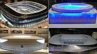 Budoucí vize stadiónu Realu Madrid.