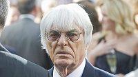Šéf F1 Bernie Ecclestone