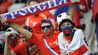 Ruští fanoušci na fotbalovém mistrovství Evropy v Polsku