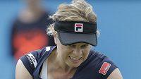 Belgická tenistka Kim Clijstersová