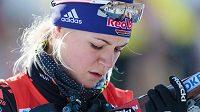 Německá biatlonistka Miriam Gössnerová si dá mateřskou pauzu.