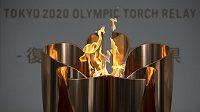 Olympijský oheň se vydá na svou pouť po Japonsku.